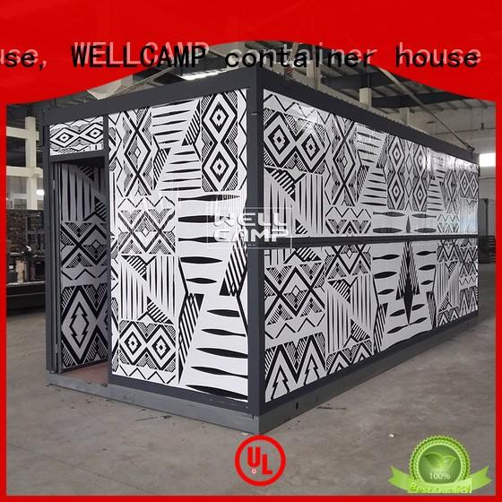 WELLCAMP, WELLCAMP prefab house, WELLCAMP container house expandable cost to build shipping container home manufacturer for sale