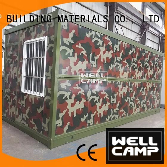 WELLCAMP, WELLCAMP prefab house, WELLCAMP container house material container house cost maker for outdoor builder