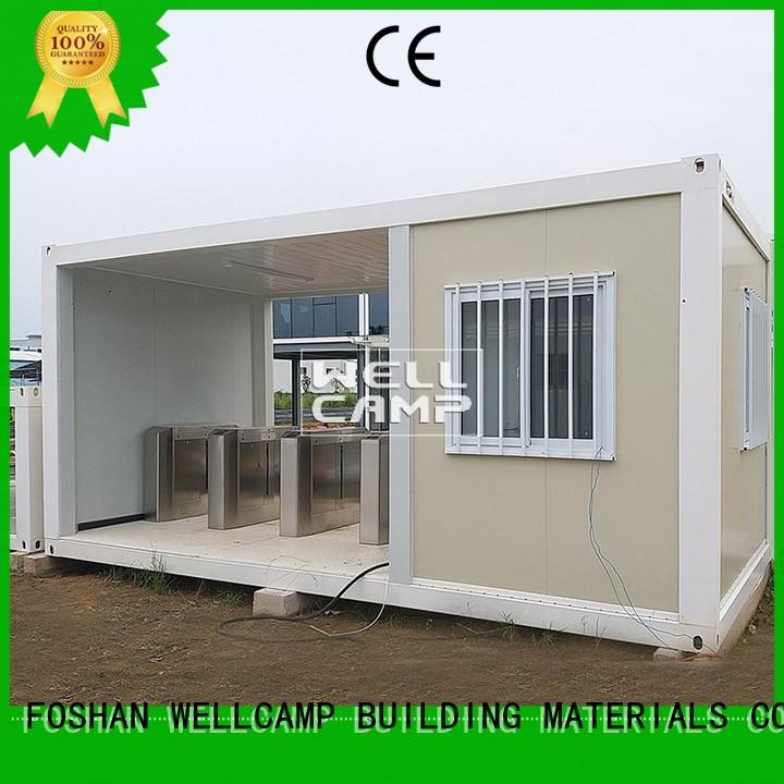 high end small container homes manufacturer for office WELLCAMP, WELLCAMP prefab house, WELLCAMP container house