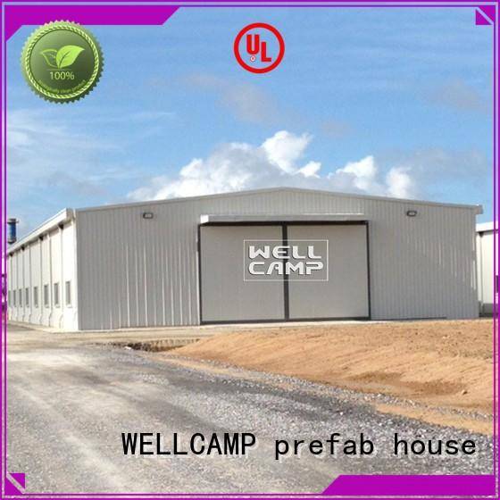excellent steel workshop good selling for chicken shed WELLCAMP, WELLCAMP prefab house, WELLCAMP container house