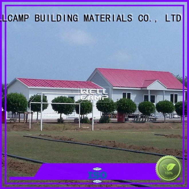 panel prefabricated modular house cv4 WELLCAMP, WELLCAMP prefab house, WELLCAMP container house