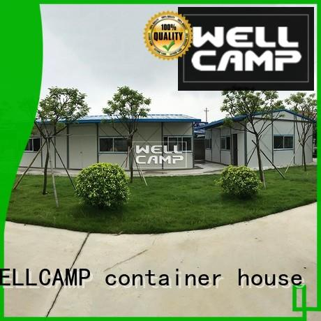 WELLCAMP, WELLCAMP prefab house, WELLCAMP container house prefab houses china on seaside for hospital