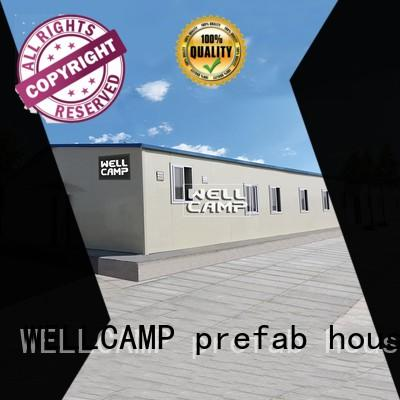 WELLCAMP, WELLCAMP prefab house, WELLCAMP container house modern prefab shipping container homes for sale classroom for dormitory