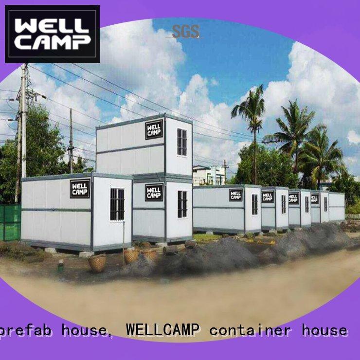 WELLCAMP, WELLCAMP prefab house, WELLCAMP container house wool folding container house manufacturer for worker
