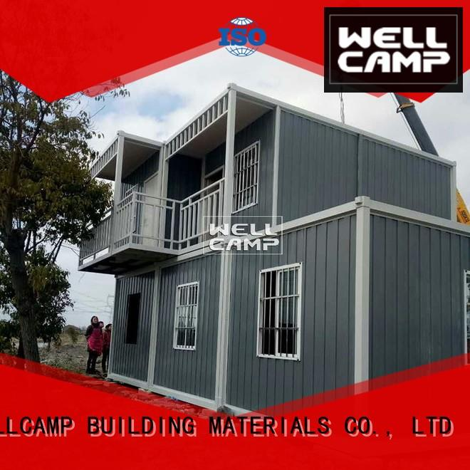 WELLCAMP, WELLCAMP prefab house, WELLCAMP container house detachable container house wholesale for living