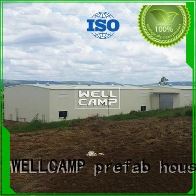 WELLCAMP, WELLCAMP prefab house, WELLCAMP container house steel warehouse low cost for warehouse