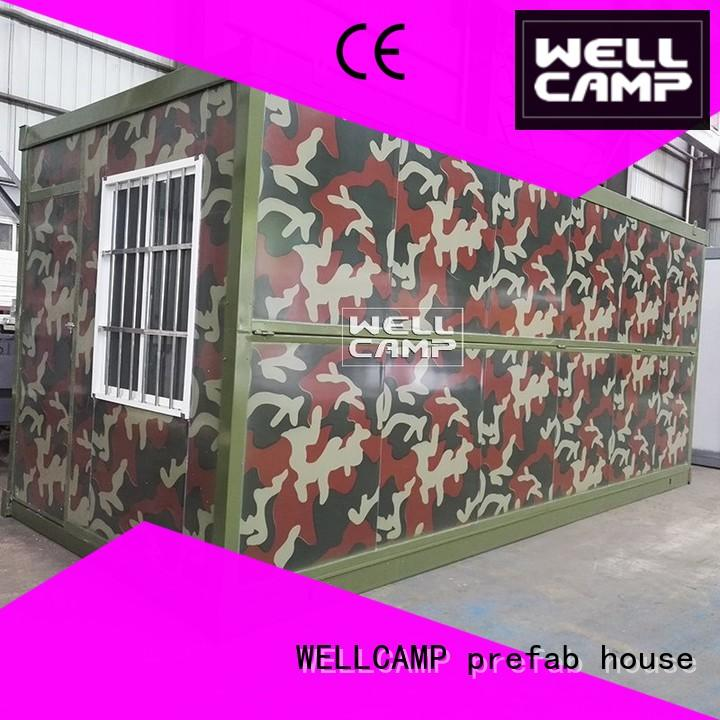 foldable container house high end for worker WELLCAMP, WELLCAMP prefab house, WELLCAMP container house