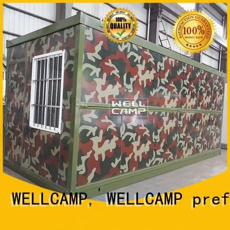 portable foldable mobile homes online for worker WELLCAMP, WELLCAMP prefab house, WELLCAMP container house