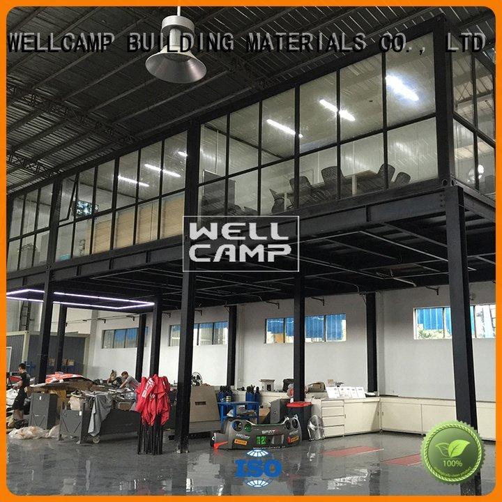 WELLCAMP, WELLCAMP prefab house, WELLCAMP container house detachable container house project ieps c7 c6