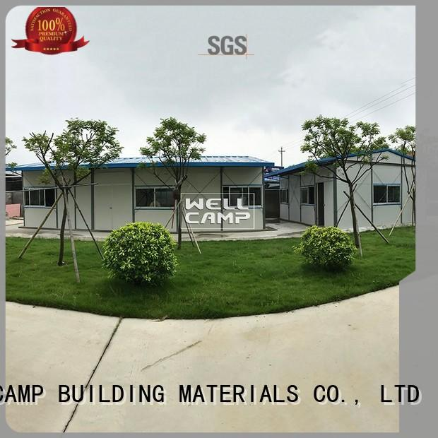 customized prefabricated houses by chinese companies on seaside for hospital