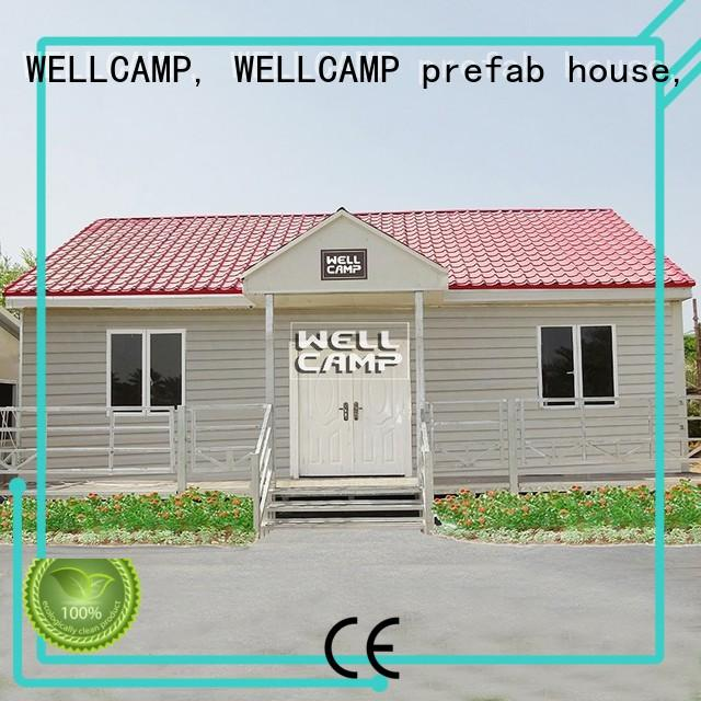 New Style Luxury Prefab Concrete Villa Homes, Wellcamp CV-6