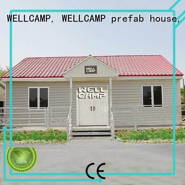 New Style Luxury Prefab Concrete Villa Homes, Wellcamp CV-6
