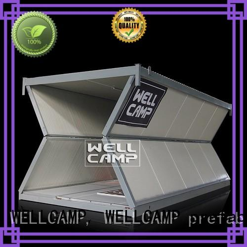 WELLCAMP, WELLCAMP prefab house, WELLCAMP container house panel modular container homes online for worker