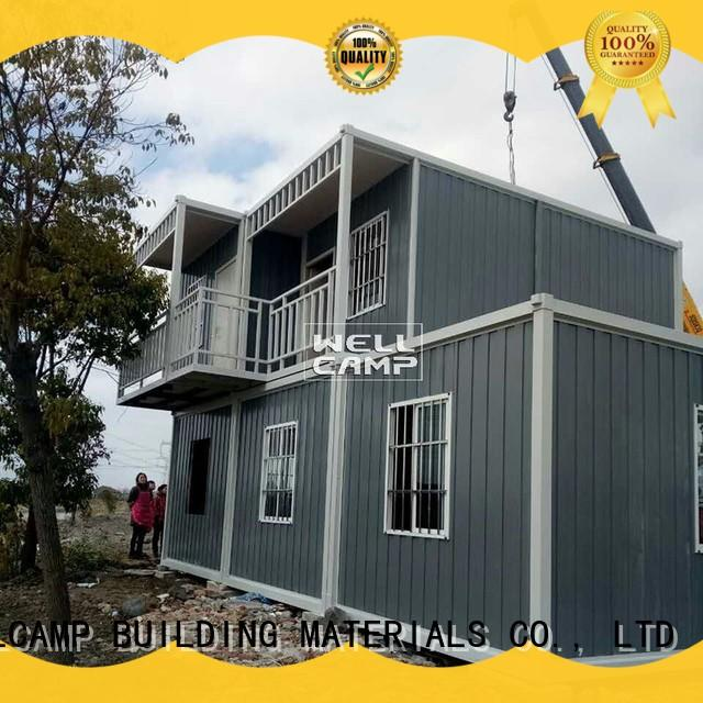 shape expandable container house price online for goods WELLCAMP, WELLCAMP prefab house, WELLCAMP container house