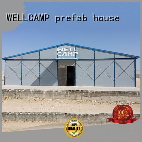 prefabricated reinforced concrete houses safe for labour camp WELLCAMP, WELLCAMP prefab house, WELLCAMP container house
