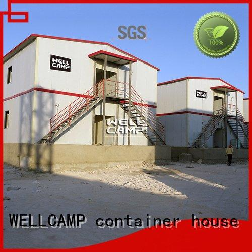 WELLCAMP, WELLCAMP prefab house, WELLCAMP container house prefab houses for sale customized camp prefab home