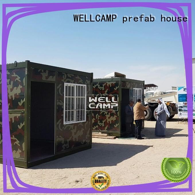 WELLCAMP, WELLCAMP prefab house, WELLCAMP container house house foldable expandable homes for outdoor builder