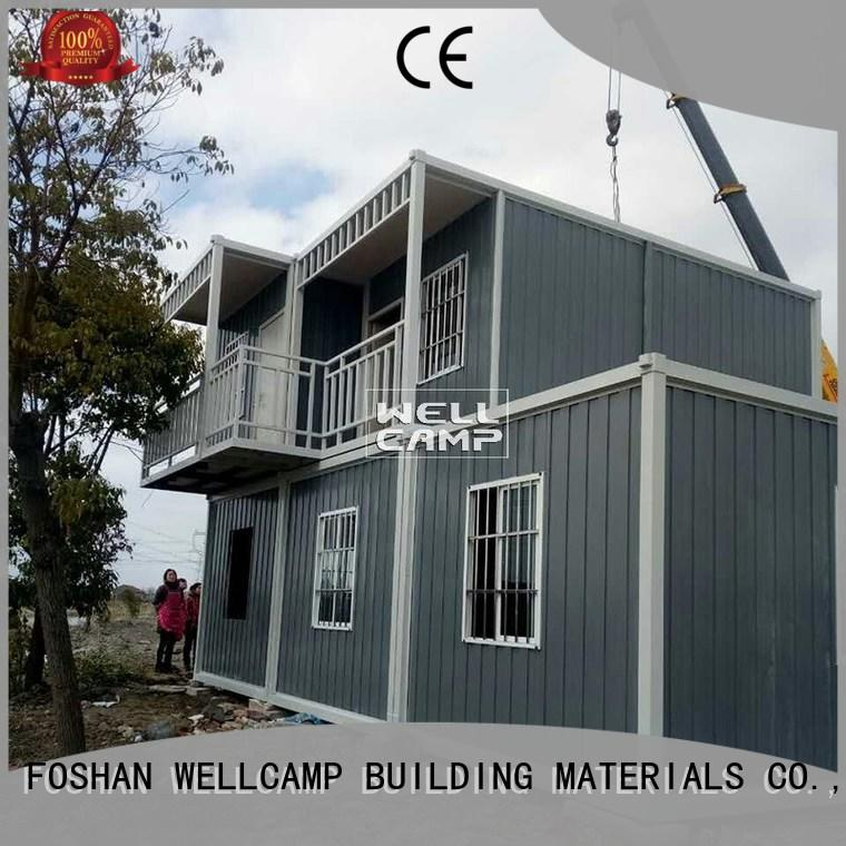 two floor container house builders wholesale for office