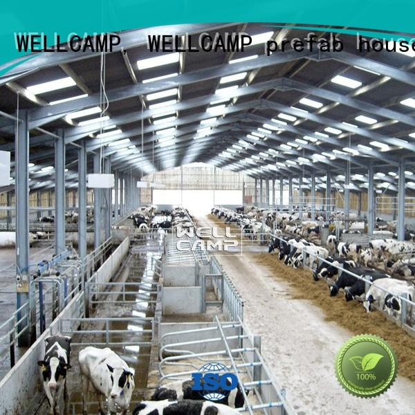 WELLCAMP, WELLCAMP prefab house, WELLCAMP container house light steel steel sheds supplier wholesale