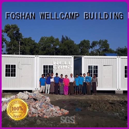 WELLCAMP, WELLCAMP prefab house, WELLCAMP container house container house for sale wholesale for goods