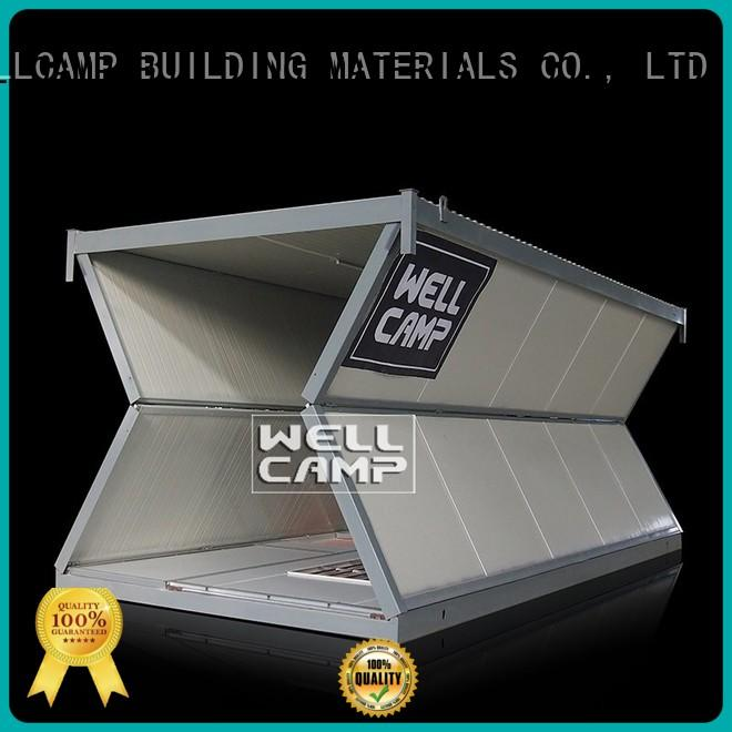 WELLCAMP, WELLCAMP prefab house, WELLCAMP container house light steel cost to build shipping container home online for outdoor builder
