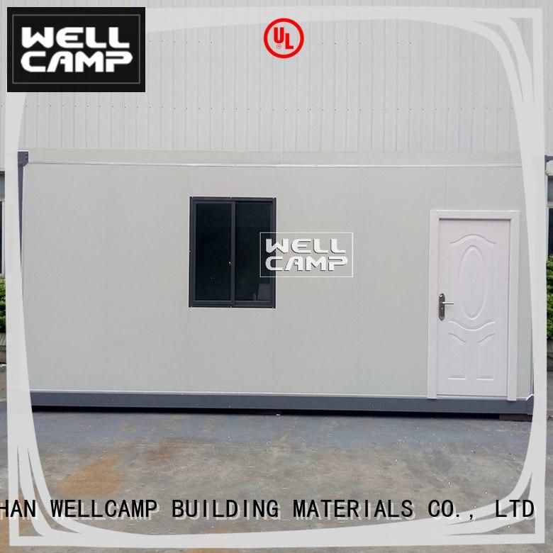 WELLCAMP, WELLCAMP prefab house, WELLCAMP container house high end modular container house factory supplier for renting