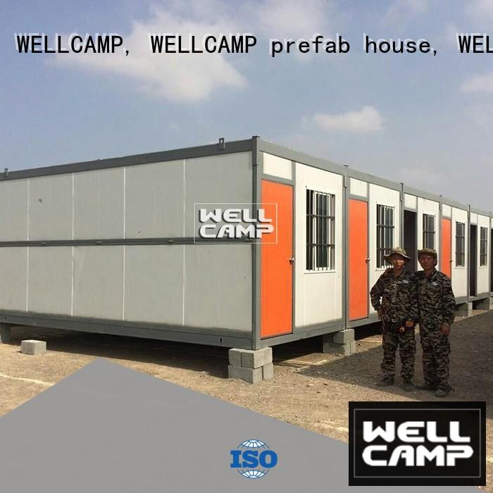 foldable container for outdoor builder WELLCAMP, WELLCAMP prefab house, WELLCAMP container house