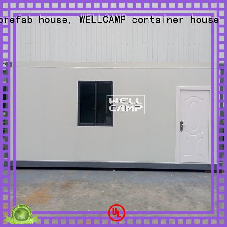 WELLCAMP, WELLCAMP prefab house, WELLCAMP container house hot sale good quality flat pack living container house supplier for office