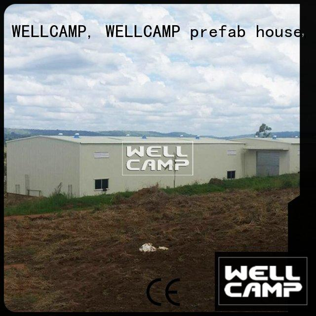 economic cheap prefab warehouse supplier for sale WELLCAMP, WELLCAMP prefab house, WELLCAMP container house