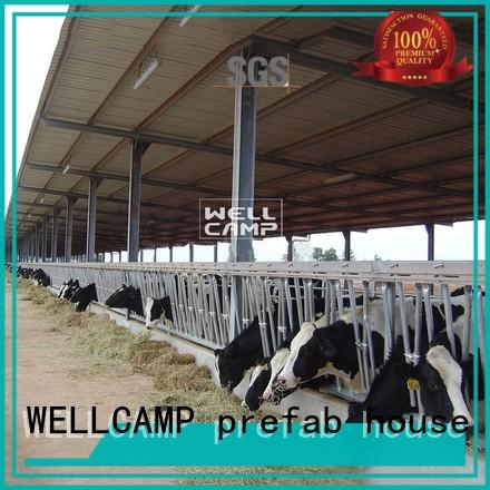 WELLCAMP, WELLCAMP prefab house, WELLCAMP container house latest small steel sheds for sale maker online