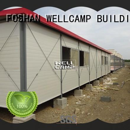 WELLCAMP, WELLCAMP prefab house, WELLCAMP container house prefab homes home for office