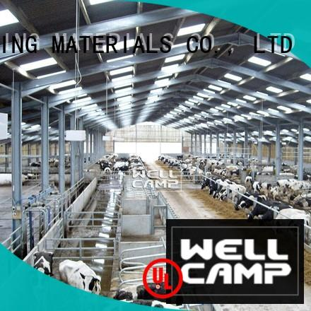 WELLCAMP, WELLCAMP prefab house, WELLCAMP container house high end steel shed prices maker online