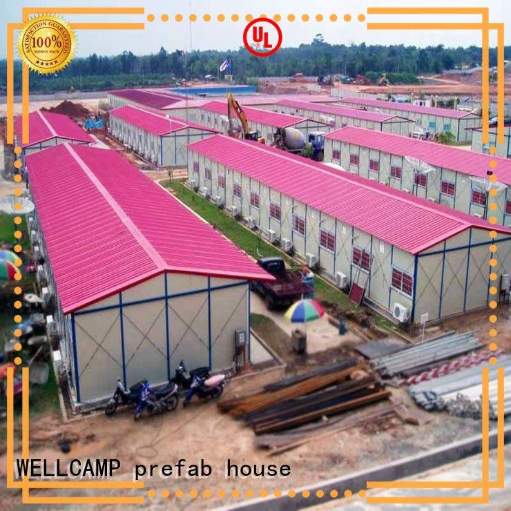 WELLCAMP, WELLCAMP prefab house, WELLCAMP container house strong prefabricated warehouse manufacturer
