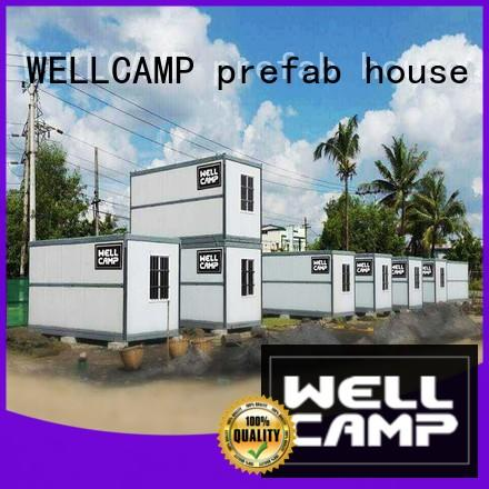 WELLCAMP, WELLCAMP prefab house, WELLCAMP container house easy move cost to build shipping container home supplier wholesale