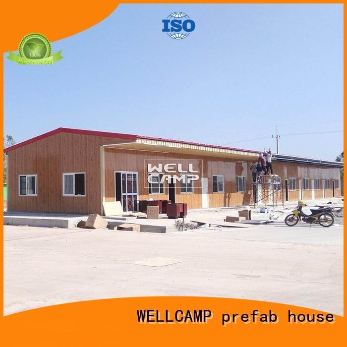 WELLCAMP, WELLCAMP prefab house, WELLCAMP container house prefab shipping container homes online for labour camp