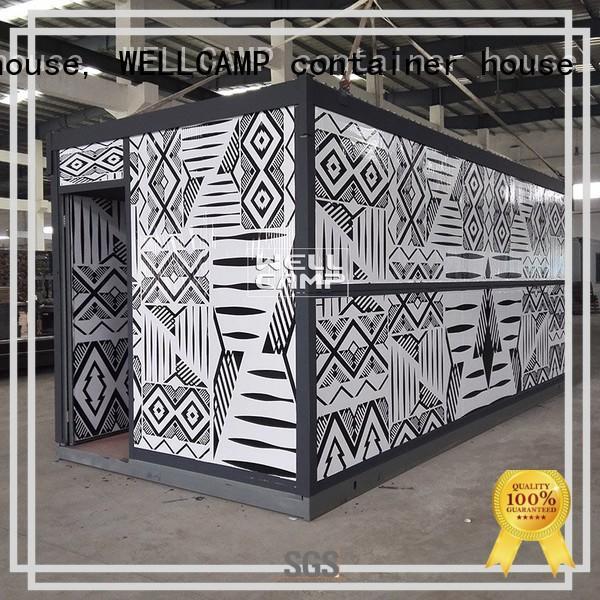 WELLCAMP, WELLCAMP prefab house, WELLCAMP container house pbs folding container house online wholesale