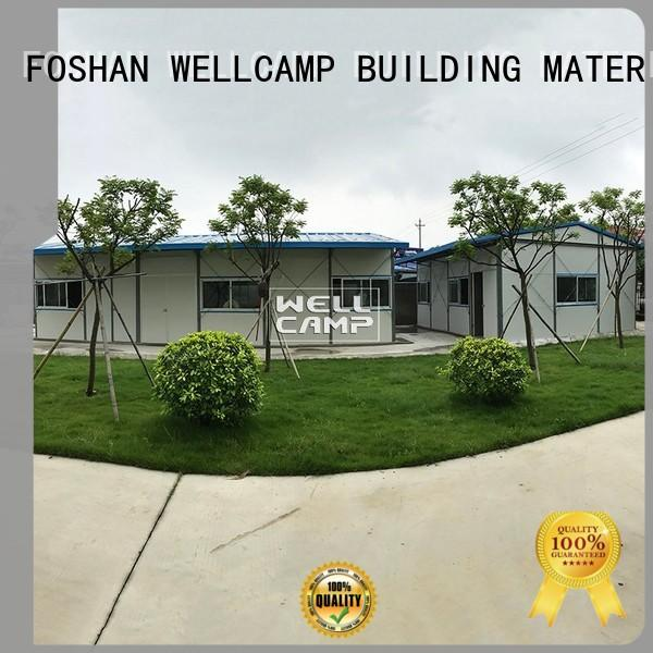 china prefabricated house for sale safe for office WELLCAMP, WELLCAMP prefab house, WELLCAMP container house