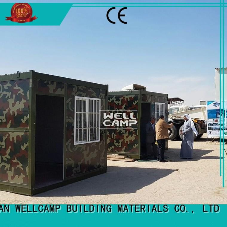 WELLCAMP, WELLCAMP prefab house, WELLCAMP container house expandable houses made out of shipping containers manufacturer for outdoor builder