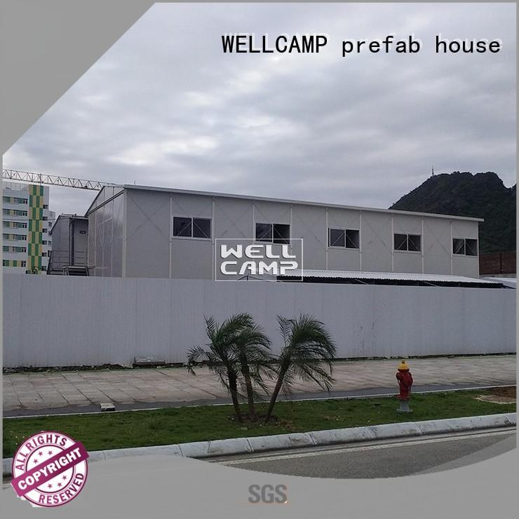 WELLCAMP, WELLCAMP prefab house, WELLCAMP container house prefabricated house companies wholesale for office