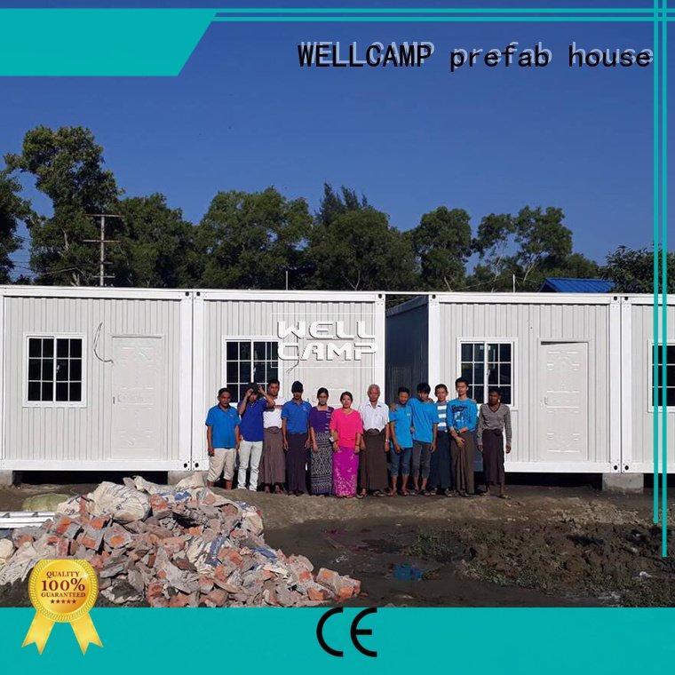 WELLCAMP, WELLCAMP prefab house, WELLCAMP container house wellcamp detachable container house c6