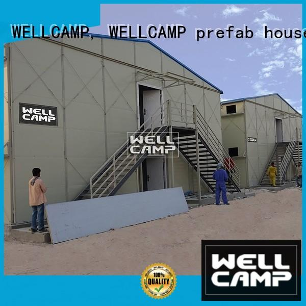 WELLCAMP, WELLCAMP prefab house, WELLCAMP container house section labor camp home for labour camp