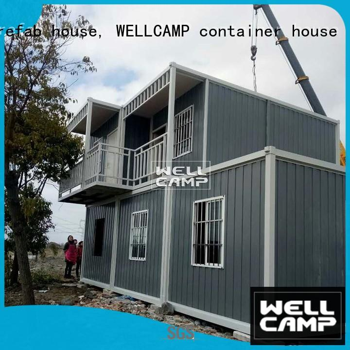 low cost container house suppliers online for office WELLCAMP, WELLCAMP prefab house, WELLCAMP container house