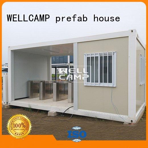 flat pack storage container flat flat pack container house WELLCAMP, WELLCAMP prefab house, WELLCAMP container house
