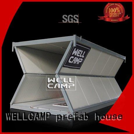 WELLCAMP, WELLCAMP prefab house, WELLCAMP container house move c16 folding container house color style