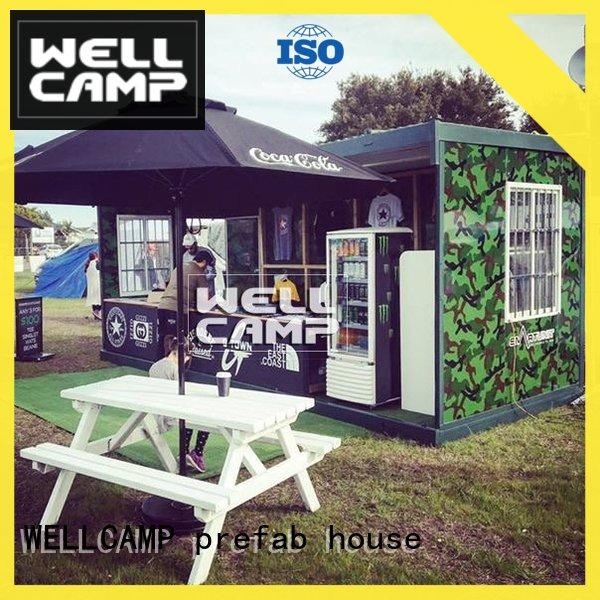 WELLCAMP, WELLCAMP prefab house, WELLCAMP container house light steel cheap container homes manufacturer for sale