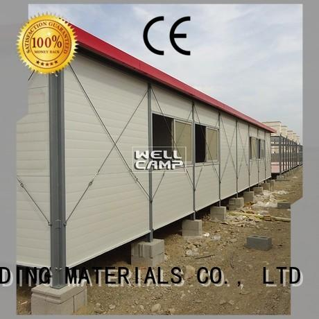 galvanized prefabricated houses made in china on seaside for hospital WELLCAMP, WELLCAMP prefab house, WELLCAMP container house