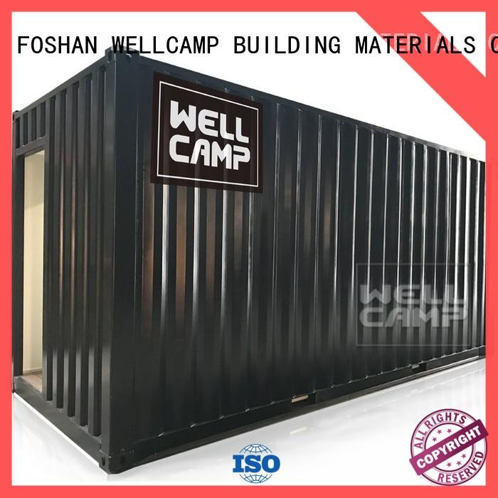 WELLCAMP, WELLCAMP prefab house, WELLCAMP container house portable premade shipping container homes latest for hotel