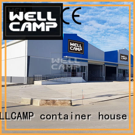 WELLCAMP, WELLCAMP prefab house, WELLCAMP container house prefabricated warehouse low cost