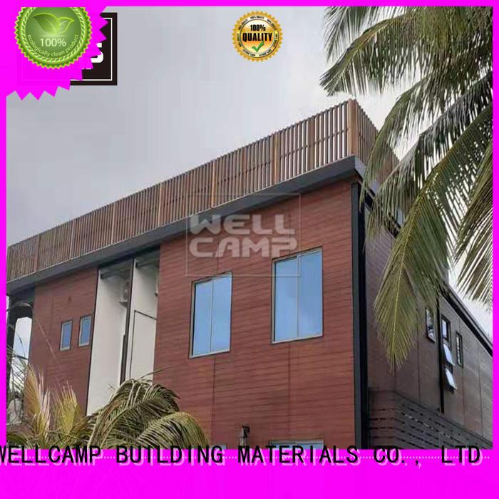 WELLCAMP, WELLCAMP prefab house, WELLCAMP container house luxury prefab modular house supplier for house