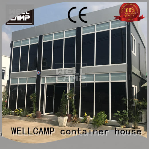 affordable steel structure villa manufacturers wholesale for resort WELLCAMP, WELLCAMP prefab house, WELLCAMP container house